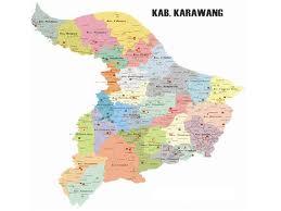 Peta Karawang